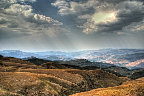 The Drakensberg mountain range - South Africa - HDR