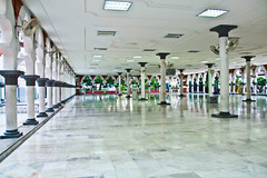 Inside Masjid Jamek Mosque