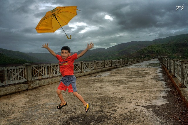 Joy of First Rain