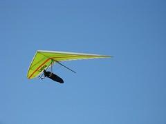 hang glider in flight 2