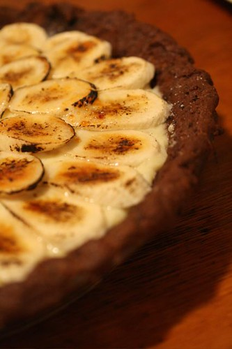 Banana Cream Pie with Whole Grain Chocolate Crust | Flickr - Photo ...