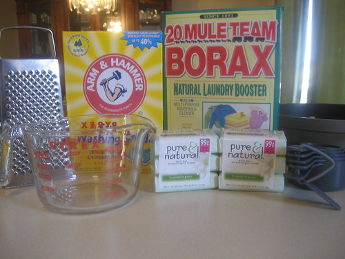 Making Your Own Laundry Detergent A Detailed Visual Guide