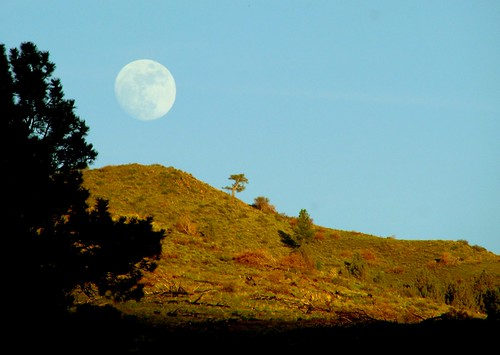 sunset sky moon forest spring fremont national shade rise hillside campground exposed marsters chewaucan