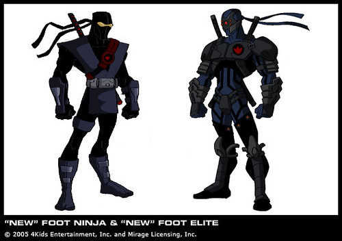 39 new 39 foot soldier foot tech ninja courtesy 4kids for Foot soldier