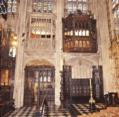 Katherine of Aragon's window in St George's Chapel
