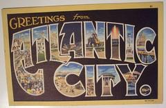 Vintage Postcard, Atlantic City
