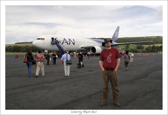 Last photo on Easter Island