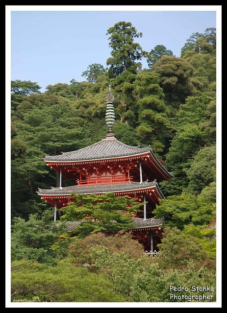 Temple of the Castle Gifu - Japan
