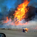 Interstate 5 on Fire