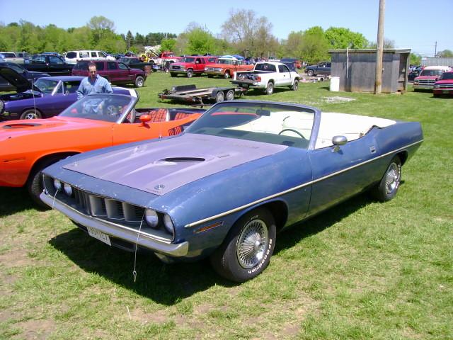 barracuda 1971 convertible - photo #11