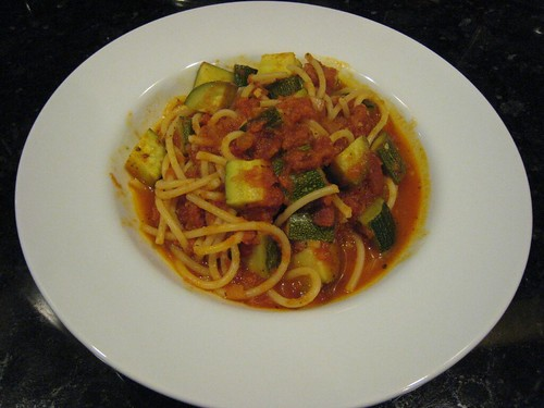 food, zuchinni, pasta, primavera IMG_5937