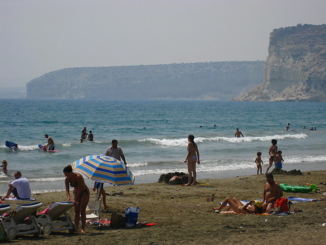 Kourion Beach, Kourion, Cyprus