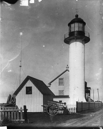 Lighthouse at Matane,  QC,  1915