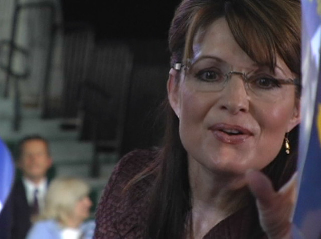 Sarah Palin in Dover, New Hampshire