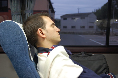 Bus Nocturno Japón