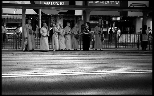 The queue-Tin Hau, HK