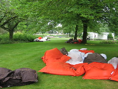 play(0.0), leisure(0.0), meadow(0.0), picnic(0.0), camping(0.0), grass(1.0), lawn(1.0), tent(1.0),