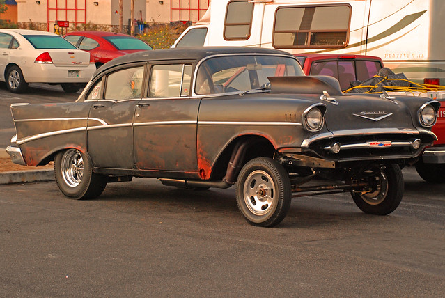 57 Chevy Gasser For Sale http://www.flickr.com/photos/williamh/2998344344/