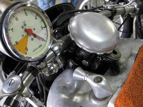 NSU Kompressor details by the vintagent