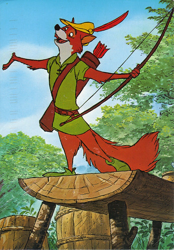 Disney's Robin Hood Postcard