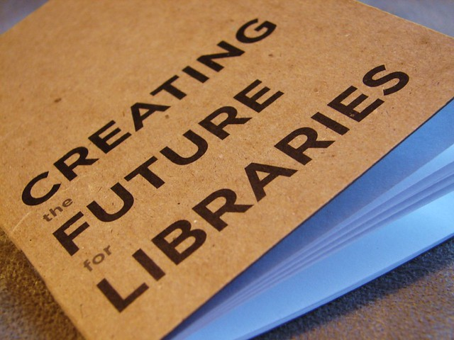 Creating the Future for Libraries blank book