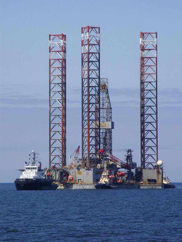 Ensco-72 tall | Ensco-72 mid size jack-up oil drilling rig c