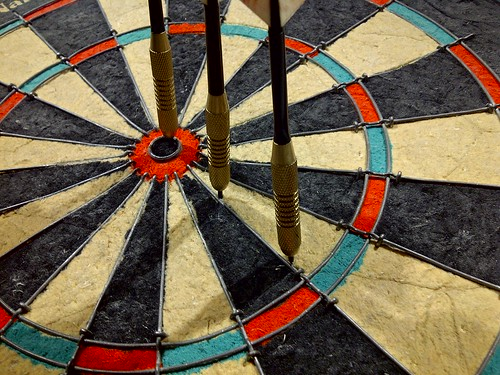 Bulls-eye | by Janna Wandler
