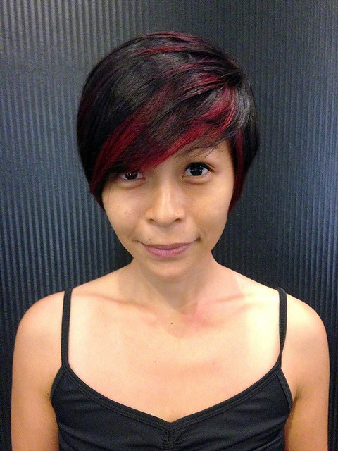 hair cut colour at centro hair salon gardens mid valley-018
