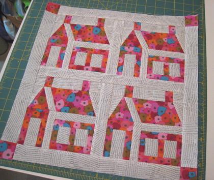 Schoolhouse quilt blocks Flickr - Photo Sharing!