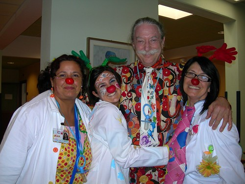 Patch Adams e Chiummy