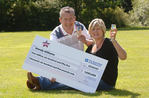 Lottery Winner Mandy Williams