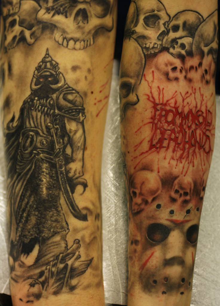 Lower Tattoo Sleeve: From-my-cold-dead-hands (Lower Sleeve) Tattoo