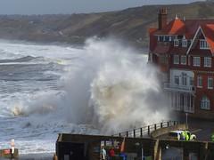 Rough Seas at Sandsend 21-22 March 08