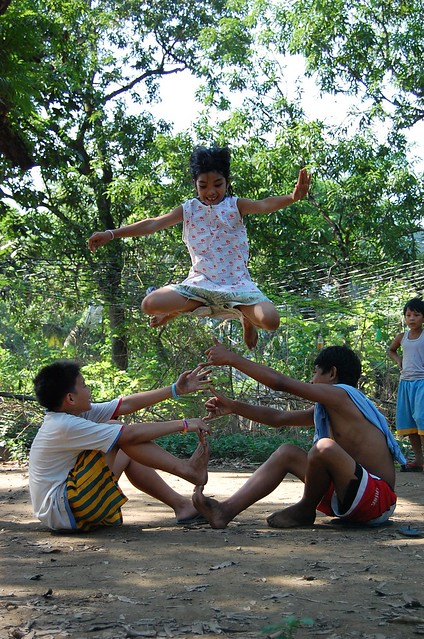 larong pinoy Filipino games must at least be seen played by many children if it won't be possible anymore that it  .