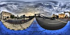 On the bridge girder