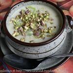 Kartoffel-Lauchsuppe mit Kokos