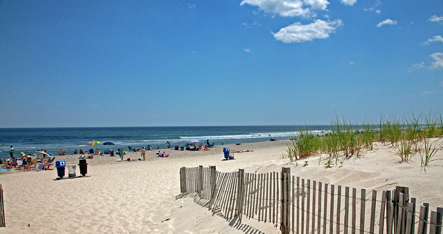 Seaside Park Beach at the Jersey Shore
