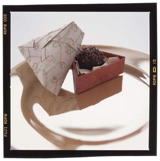 origami chocolate box flickr photo sharing
