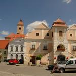Austrian Town of Pulkau, Austria