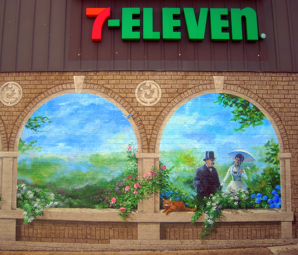 7-Eleven art
