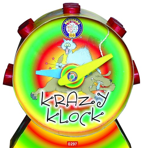 Epic Fireworks - Krazy Klock Fountain By Brothers Pyrotechnics