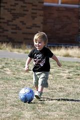 pre pee wee soccer player    MG 0754