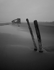 The Wreck of the Peter Iredale - Oregon