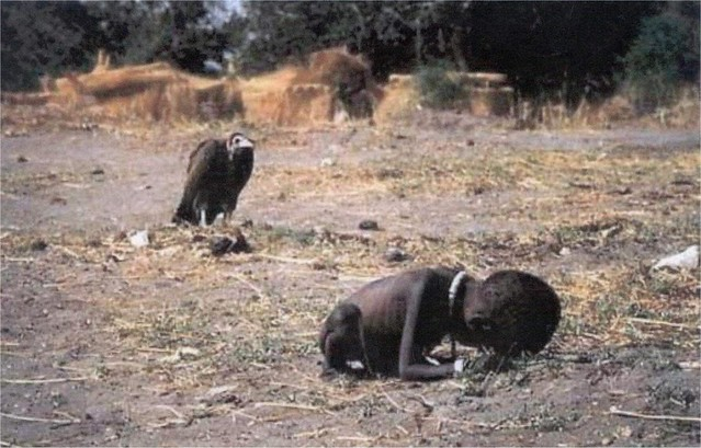 Starving Child Vulture