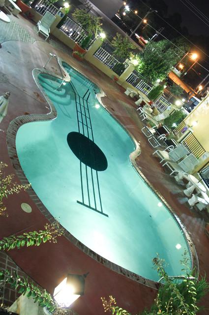 Guitar Shaped Pool Flickr Photo Sharing