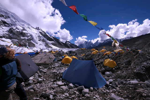 mt, everest, camp