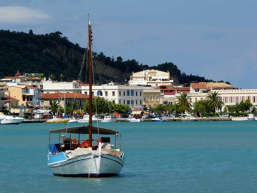 Zakynthos Harbour.