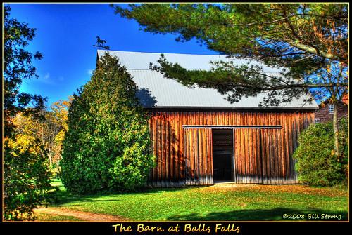 autumn barn weathervane hdr dall ballsfalls photomatix d80 3exp anawesomeshot topazadjust