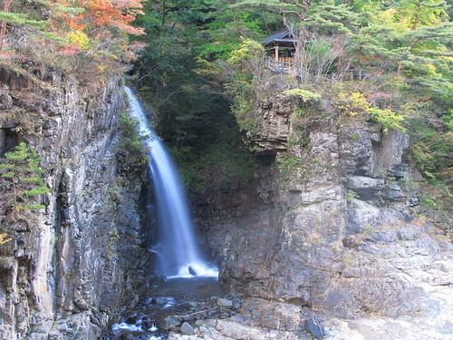 Waterfall / 龍王神社(りゅうおうじんじゃ)、虹見の滝(にじみのたき)