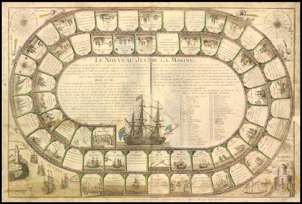 Le Nouveau jeu de la marine (1790s)